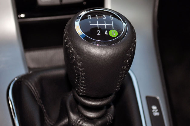 Diagram On The Gear Lever Of A Six Sd Stick Shift Automobile Shows