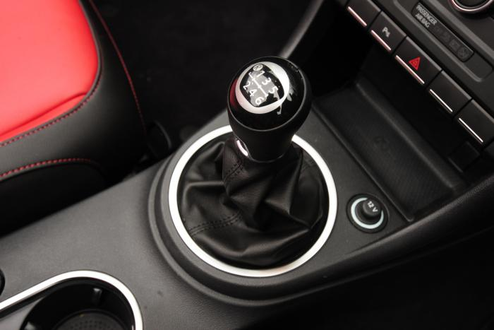 """Modern-day Volkswagen stick shift is a far cry from the iconic """"four on the floor"""" of late 1940s through 1970s vehicles."""