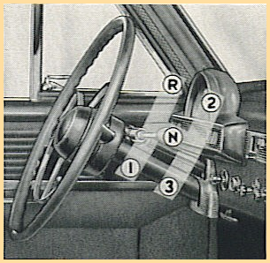 """Diagram of Hudson Jet gearbox shows location of gears known colloqually as  """"three on the tree."""""""