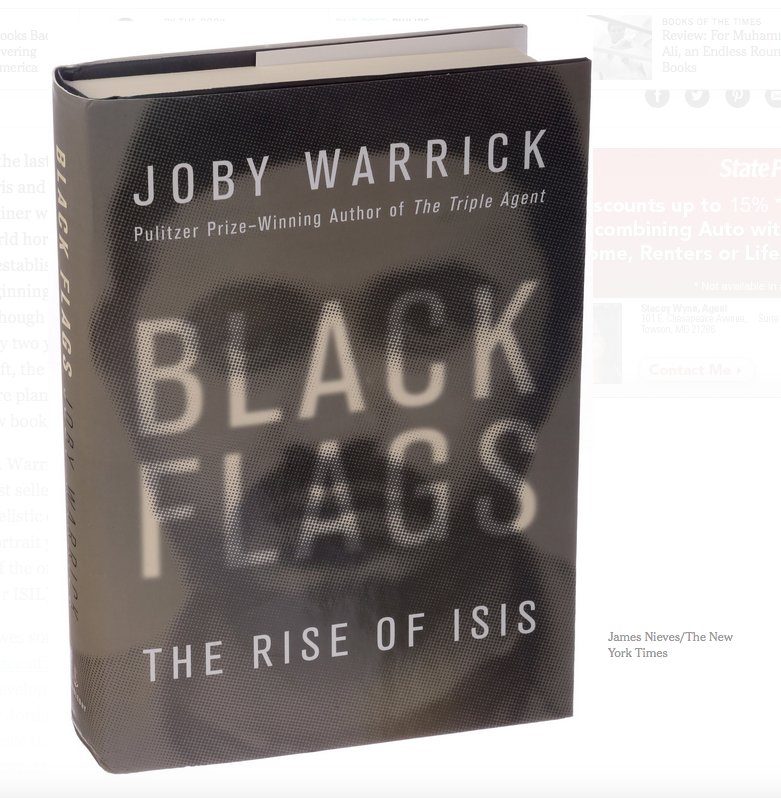 Black Flags: The Rise Of ISIS is Reviewed for VoB by Bjarne Rostaing.