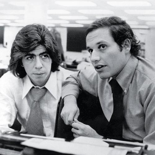 """Woodstein"":  Washington Post reporters Carl Bernstein, left, and Bob Woodward heeded the advice of investigative source ""Deep Throat"" to ""follow the money"" and brought down the presidency of Richard Nixon."