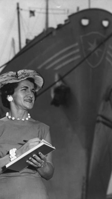 Helen Delich Bentley began reporting on the Port of Baltimore in 1945.