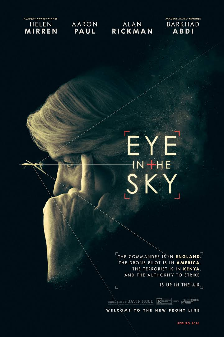 """Eye in the Sky"" is a British thriller starring Helen Mirren."