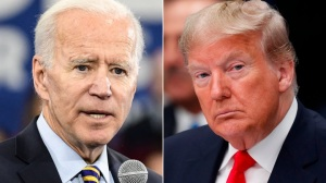 Joe Biden and Donald Trump face off Tuesday in the Election of 2020.